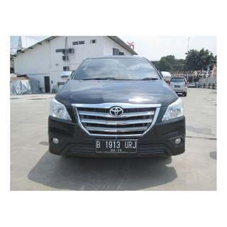 toyota	innova g new (innova) bensin	manual	2013