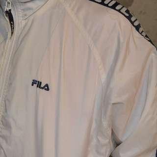 Vintage Fila Logo Windbreaker