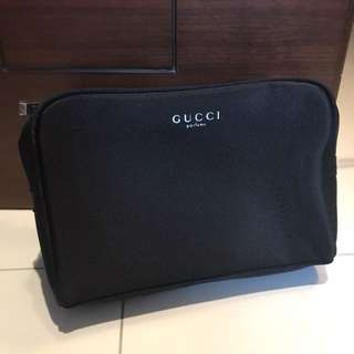 Gucci nylon cosmetic bag