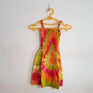 #MakinTebel Dress Batik Warna-warni
