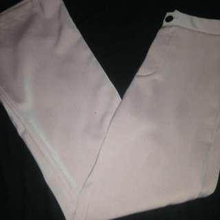 Wide bottom pants