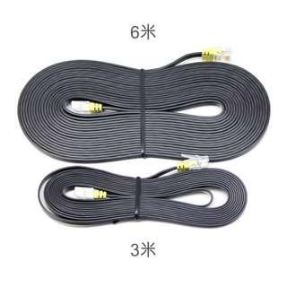 【居家必備】純銅扁平網路線/Ethernet Cable/Lan線/3米6米可選