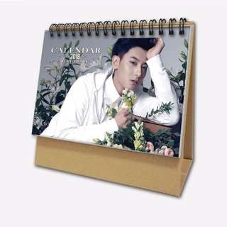 huang zi tao 2018 calendar 📆