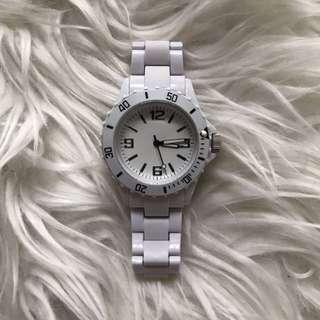 White Fashion Watch