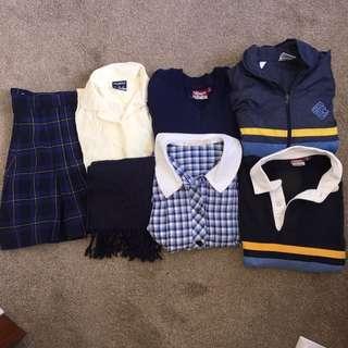 Canterbury Girls Secondary College CGSC uniform