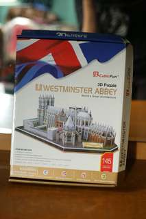 Cubic Fun 3D Puzzle: Westminster Abbey