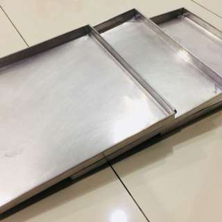 Aluminum Baking Trays ( 3 pcs)