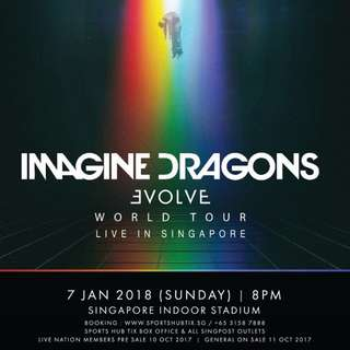 Looking for Imagine Dragons (Cat 4 Standing)
