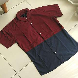 Casual Tshirt Two Tone