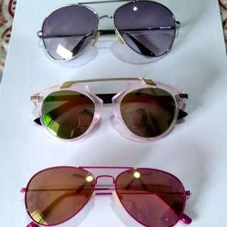 Bundled sunglasses