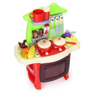 Simulation Kitchen For Children - Red (Pre-order)