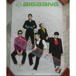[READY STOCK]BIGBANG KOREA OFFICIAL POSTER 1PC SHIP USING TUBE (PRICE NOT INCLUDE POSTAGE)(PLEASE READ DETAILS FOR MORE INFO)