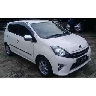toyota agya g 1.0 bensin automatic 2014
