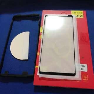 全新🔥全屏粘貼 弧邊 Samsung Note 8 鋼化玻璃保護貼