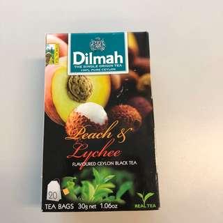 Dilmah Peach & Lychee Flavoured Ceylon Black Tea