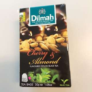 Dilmah Cherry & Almond Flavoured Ceyon Black Tea