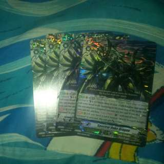 Cardfight Vanguard Card -Spectral Duke Dragon (4 pcs)