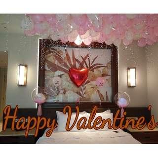 Pre Valentine's day balloon gift surprises