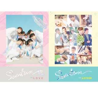 Seventeen First love and first letter