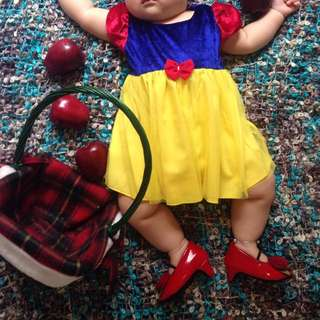 Baju baby girl snow white