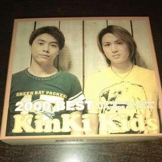 CD Kinki Kids 2000 Best