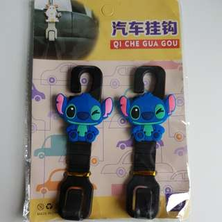 Cute Car Hook - Hello Kitty/Stitch