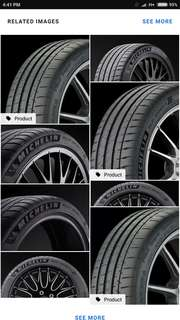 Wts michelin pss tyres 255/35/19