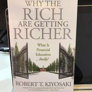 Why the Rich are getting richer - autographed by Robert Kiyosaki