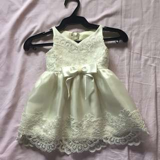 White formal dress (for babies)