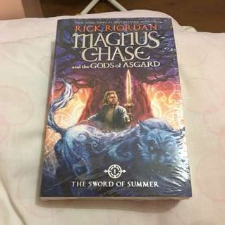 Magnus chase and the God's of asgard
