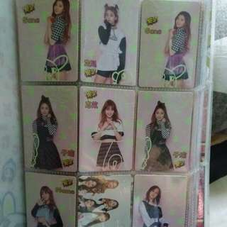 twice yes card 夜光