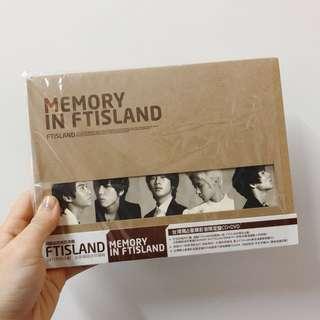 🚚 絕版MEMORY IN FTISLAND台灣獨佔豪華影音限定盤CD+DVD