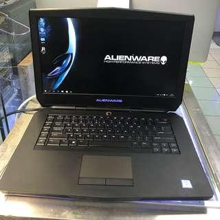 Alienware i7 6700HQ 4core 2.66G 16G 256G+1TB GTX970M 3G DDR5