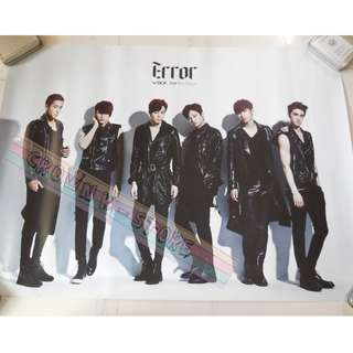[READY STOCK]VIXX KOREA OFFICIAL POSTER 1PC SHIP USING TUBE (PRICE NOT INCLUDE POSTAGE)(PLEASE READ DETAILS FOR MORE INFO)