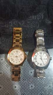 Original Fossil and Kenneth Cole Watch