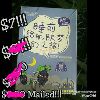 Clearance sale @$7 mailed !! Bisuitang mask !!