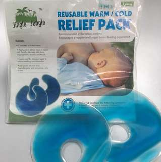 Reusable warm/cold relief pack