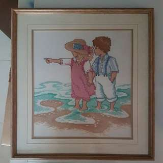 Stitch with Wooden Frame