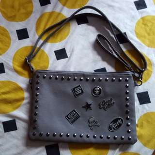 Almost New Korea Sling Bag/Clutch Bag