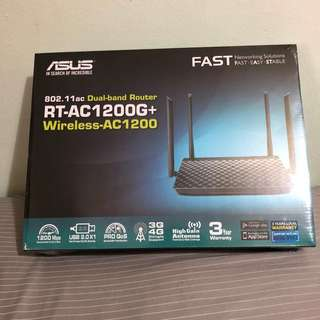ASUS RT-AC1200G+ Wireless-AC1200 Gigabit Router