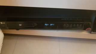Home Theater DVD and 5.1 speakers LG HT502