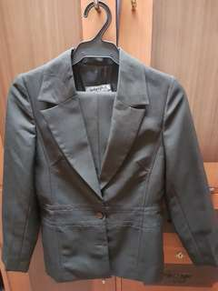 Suits: blazer and pants