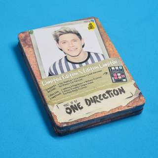 Limited Edition Make Up by One Direction (Niall Horan) in rectangular tin box