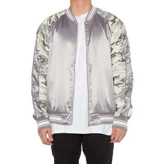 EPTM Culture Kings Mens Camo Satin jacket brand new