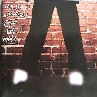Michael Jackson off the wall album