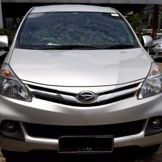 daihatsu	xenia r new bensin	manual	2014	silver metalik