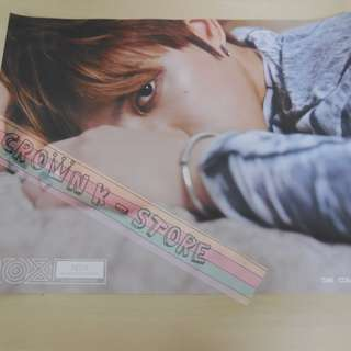 [READY STOCK]JYJ JAEJOONG KOREA OFFICIAL POSTER 1PC SHIP USING TUBE (PRICE NOT INCLUDE POSTAGE)(PLEASE READ DETAILS FOR MORE INFO)