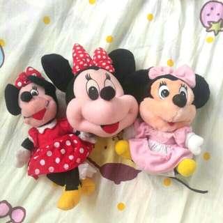 (大埔面交)Disney美妮minnie陳年毛公仔