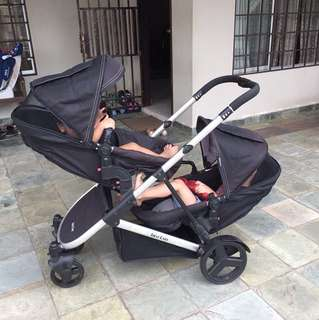 First Care Tandem Stroller (Preloved)