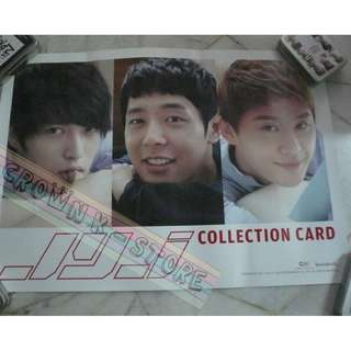 [READY STOCK]JYJ KOREA OFFICIAL POSTER 1PC SHIP USING TUBE (PRICE NOT INCLUDE POSTAGE)(PLEASE READ DETAILS FOR MORE INFO)